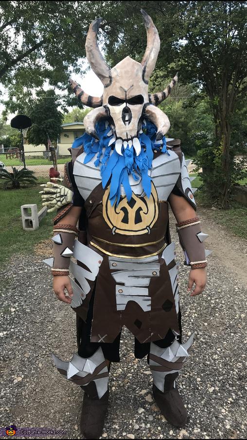 Fortnite Ragnarok Homemade Costume