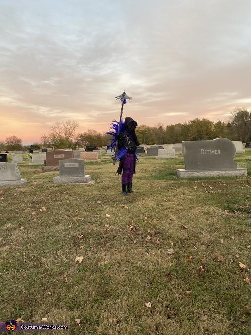 Fortnite Raven Homemade Costume