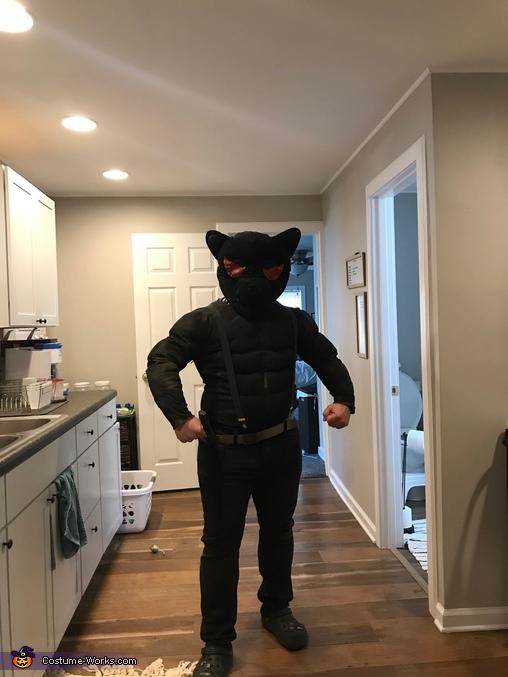 Fortnite Shadow Meowscles Homemade Costume