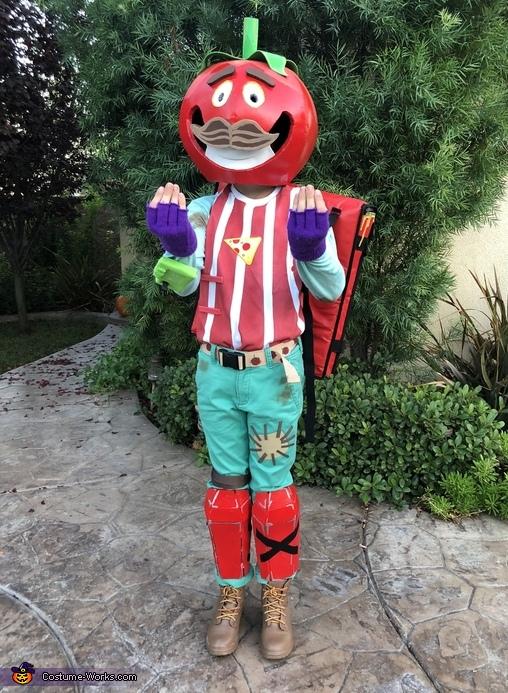Fortnite Tomato Head Costume