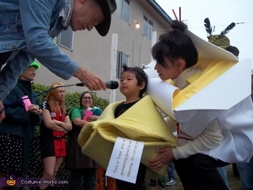 Fortune Cookies and Take Out Box Homemade Costume