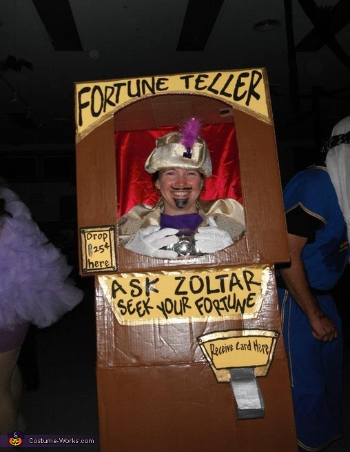 DIY Fortune Teller Costume