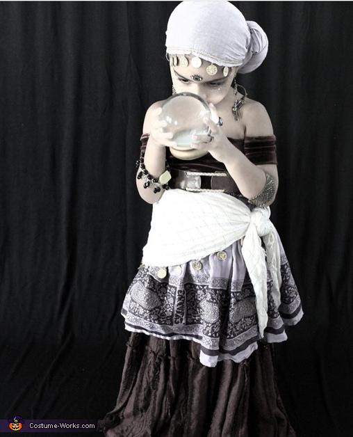 Fortune Teller Homemade Costume