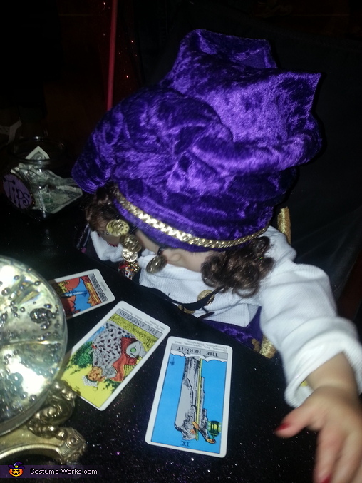 your future says...., Madam Anzley Fortune Teller Costume