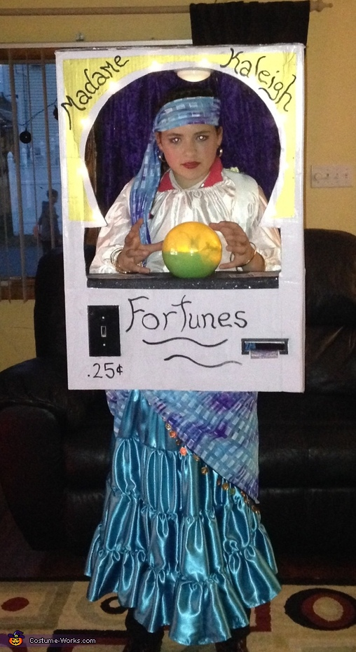 Fortune Teller Machine Costume