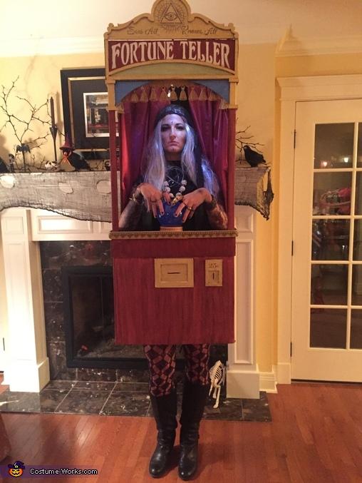 Fortune Teller Machine Homemade Costume