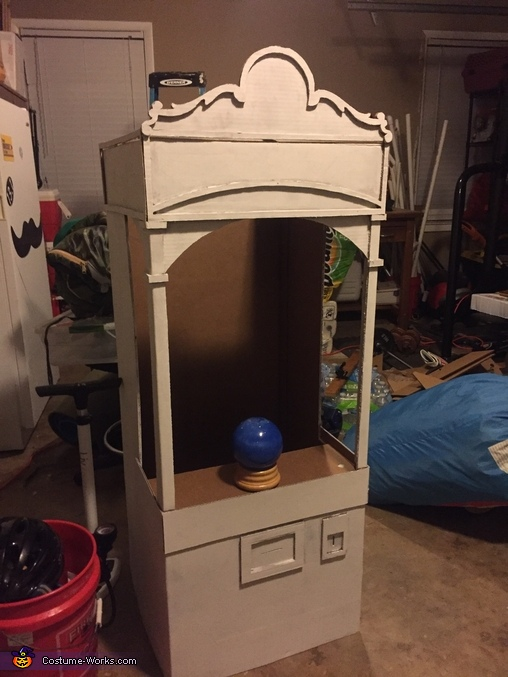 Primer coat was a must!, Fortune Teller Machine Costume
