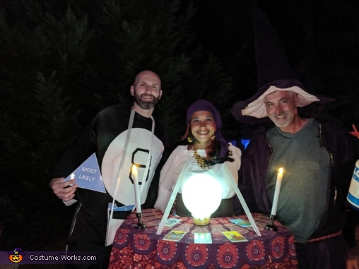 Fortune Tellers Homemade Costume