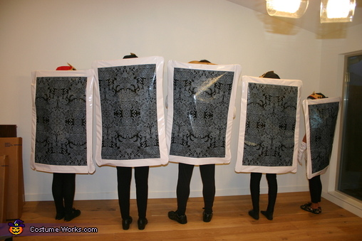 Back of the cards, Four of a Kind Costume