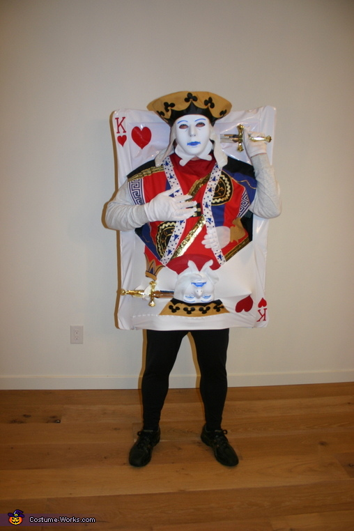King of Hearts - Dad, Four of a Kind Costume