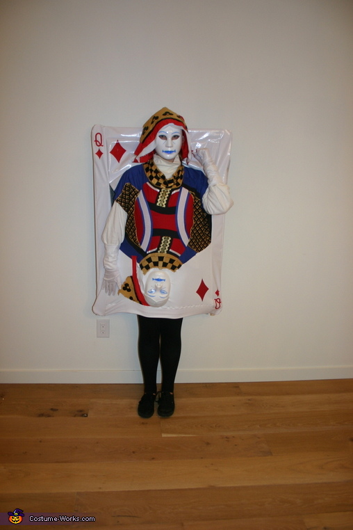 Queen of Diamonds - Oldest Daughter, Four of a Kind Costume