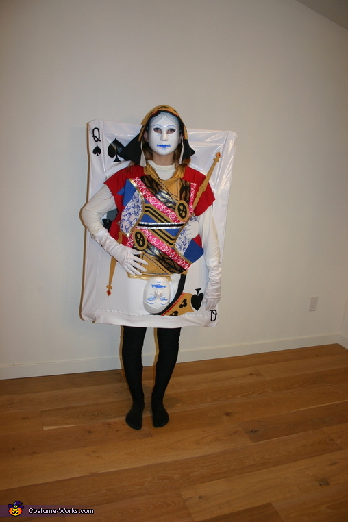 Queen of Spades - Exchange Student, Four of a Kind Costume