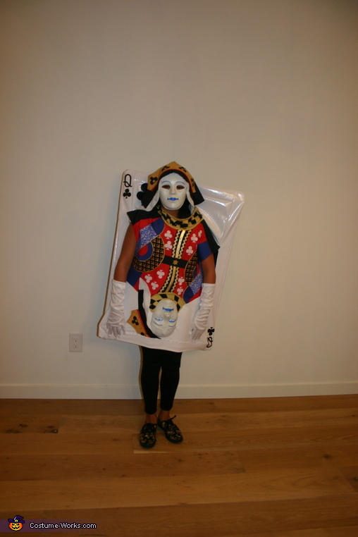 Queen of Clubs - Youngest Daughter, Four of a Kind Costume