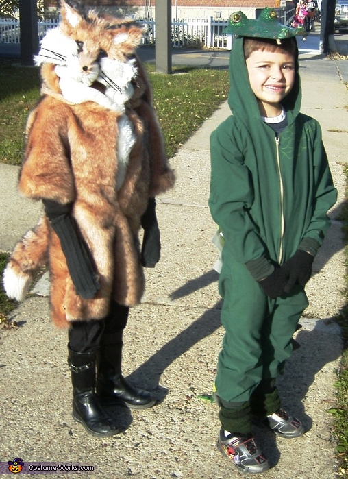Fox and Gator Costume