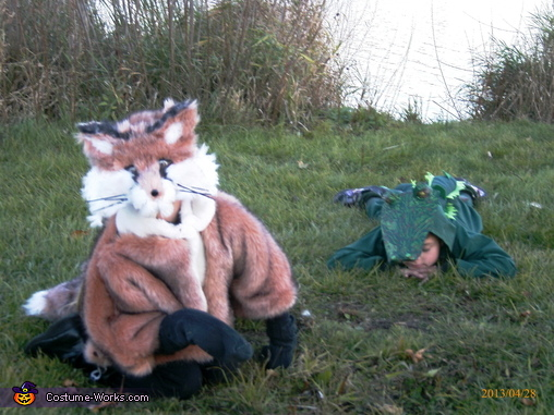 What does the fox say?, Fox and Gator Costume