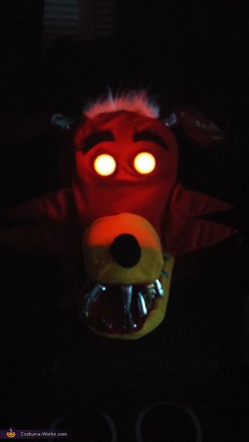 Head, Foxy Costume