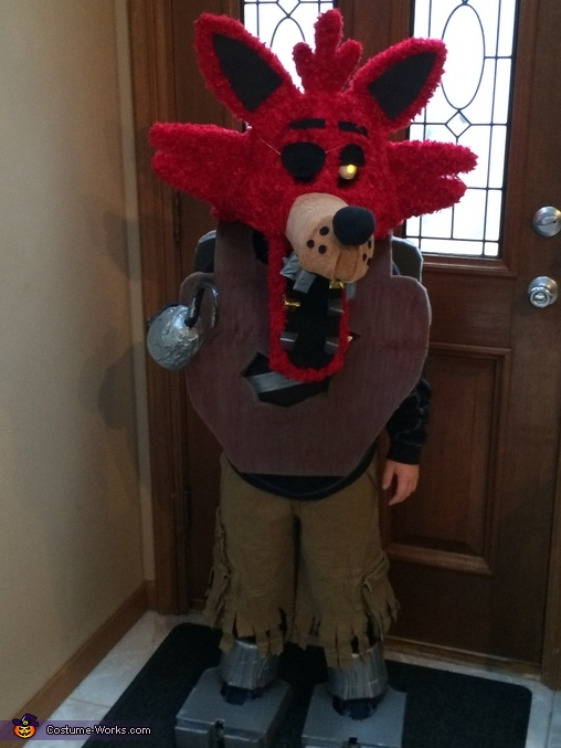 Homemade Foxy Costume