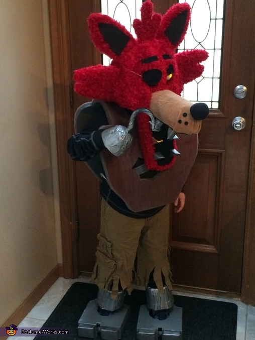 Foxy, Five Nights at Freddy's, Foxy Costume