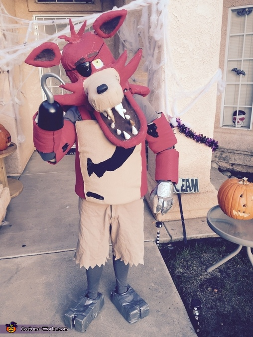 Foxy from Five Nightts at Freddy's Costume