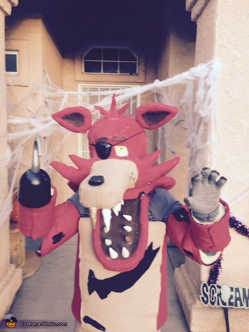 RAAAR!!!!!!, Foxy from Five Nightts at Freddy's Costume