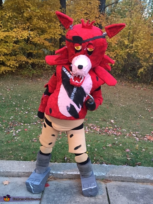 Foxy the Pirate Costume & DIY Foxy the Pirate Costume