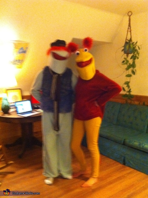 Fraggles Homemade Costume