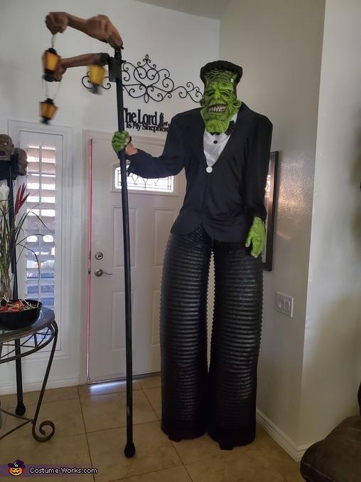 Frank & Bride Homemade Costume
