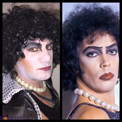 The Rocky Horror Picture Show Frank N Furter and Magenta Costume