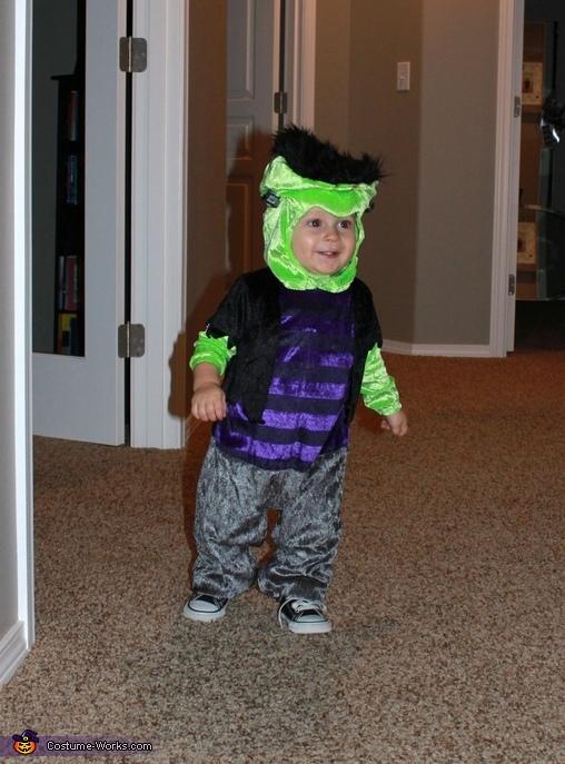 Franken-Baby Wobble, Franken-Baby Costume
