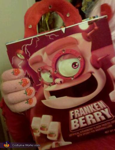 Frankenberry's designer handbag , Frankenberry Costume