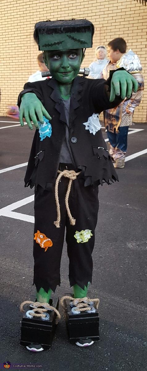Frankenstein Homemade Costume