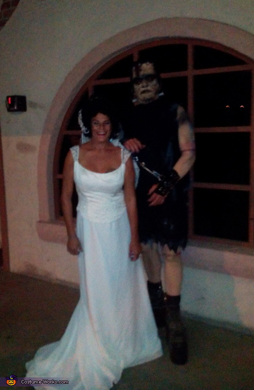 Frankenstein and bride., Frankenstein and Bride Costume