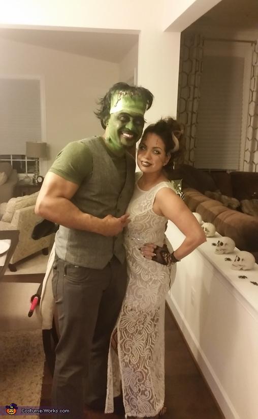 Frankenstein and Bride Costume