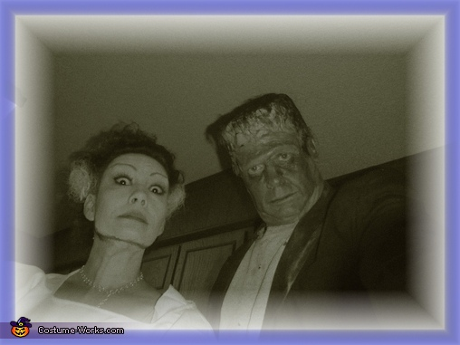 Frankenstein and his Bride, Frankenstein and his Bride Costume