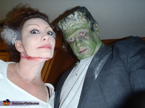 boo!!, Frankenstein and his Bride Costume