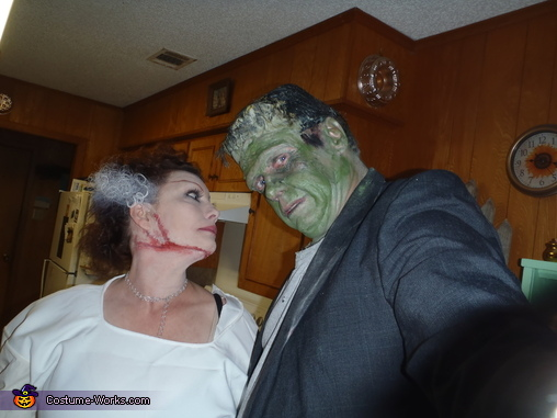 she hate me grrrrr, Frankenstein and his Bride Costume