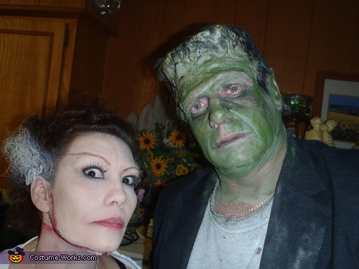 Frankenstein want friend, Frankenstein and his Bride Costume