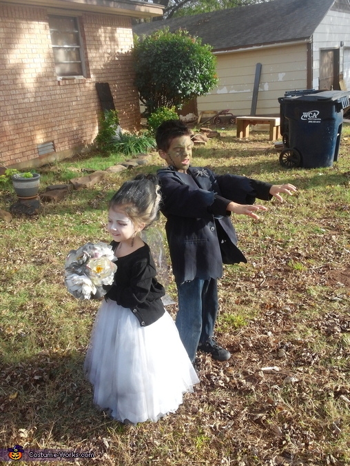 so cute, Frankenstein and his Bride Costume