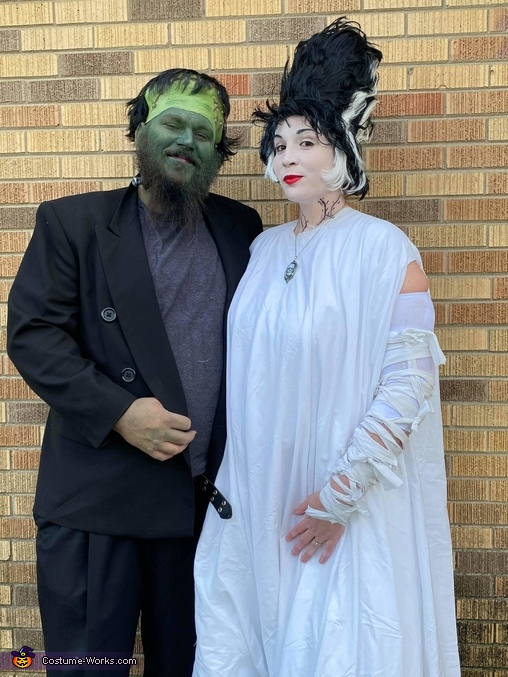 Frankenstein and his Monster Bride Costume