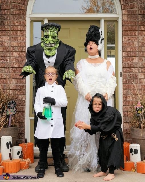 Frankenstein Family Costume