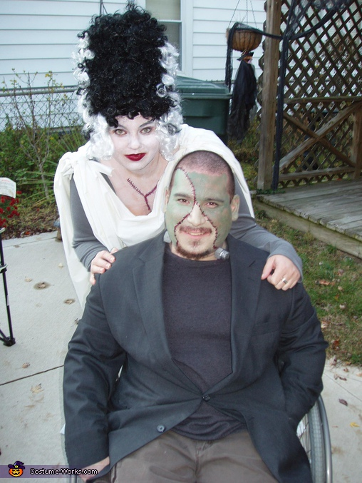 Frankenstein and his Bride Costume