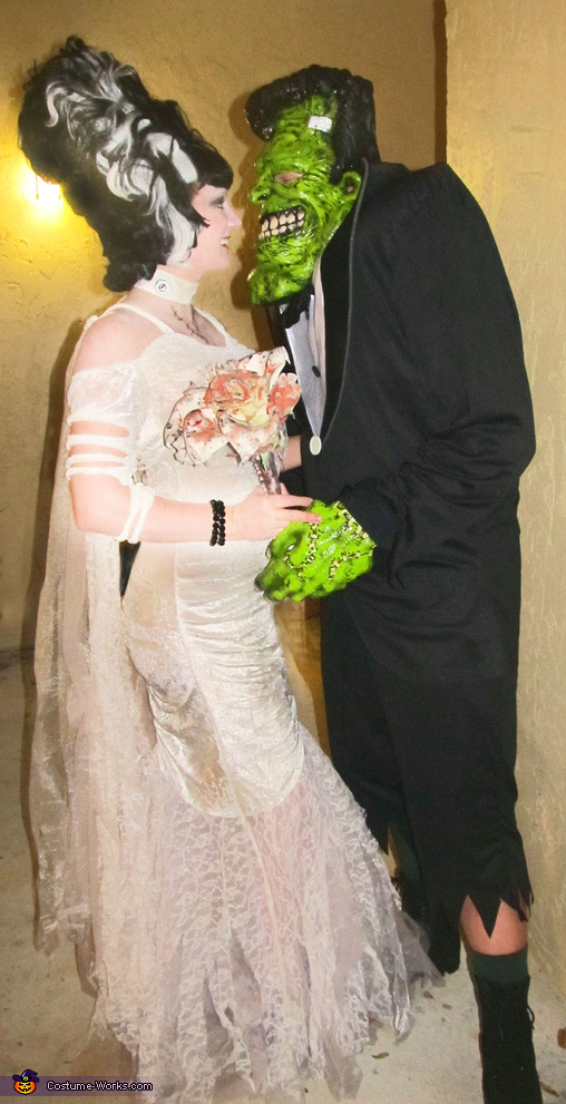 Frankenstein & His Bride - Homemade costumes for couples