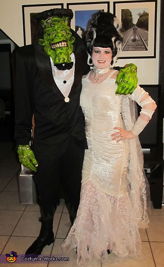 Frankenstein His Bride Halloween Costume Ideas For Couples