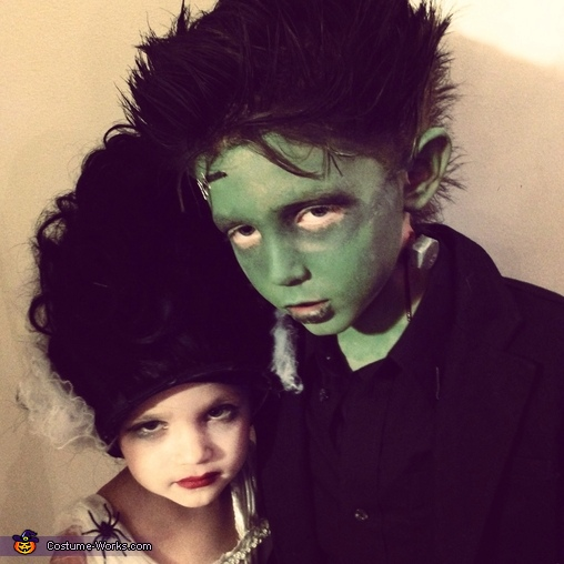 Frankenstein & his bride, Frankenstein & his Bride Costume