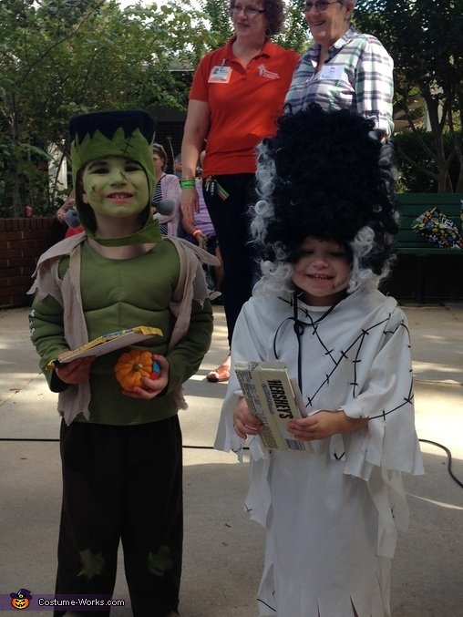 Frankenstein & his Bride Kids Costume