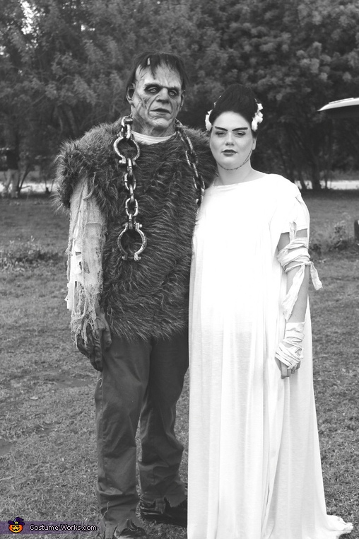 Frankenstien and His Bride Costume