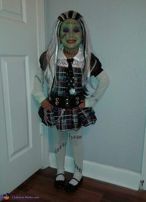 Frankie Stein from Monster High Costume