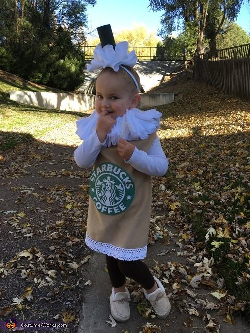 Just wait till that caffeine hits. 😄, Frap Girls Costume
