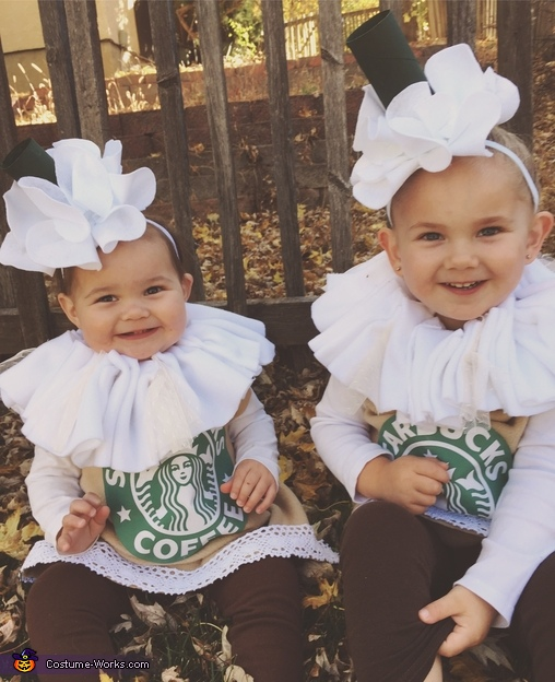 Smiles and Starbucks for everyone!, Frap Girls Costume