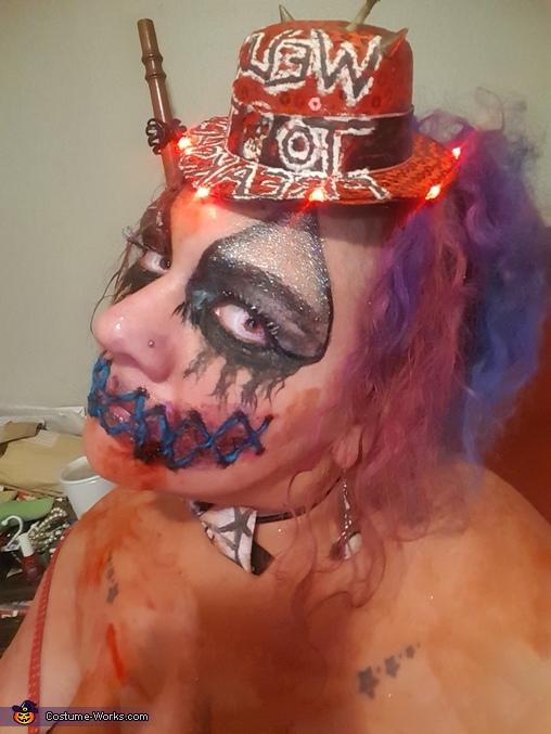 Freakshow Killer Clown Homemade Costume